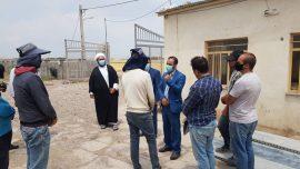 بازدید دادیار زندان از شهرک آزمایش و رسیدگی به مشکلات مددجویان شاغل