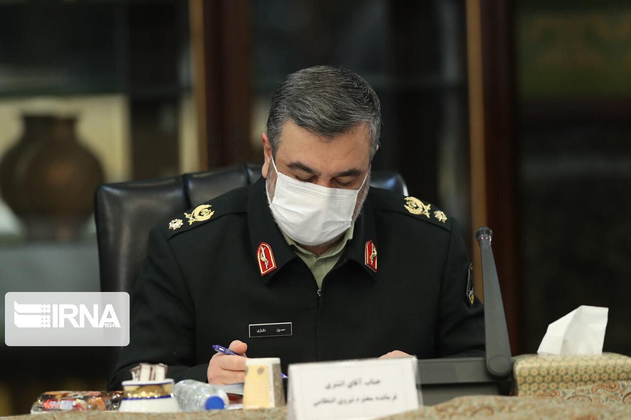 پیام تبریک فرمانده ناجا به مناسبت سالروز تشکیل سپاه