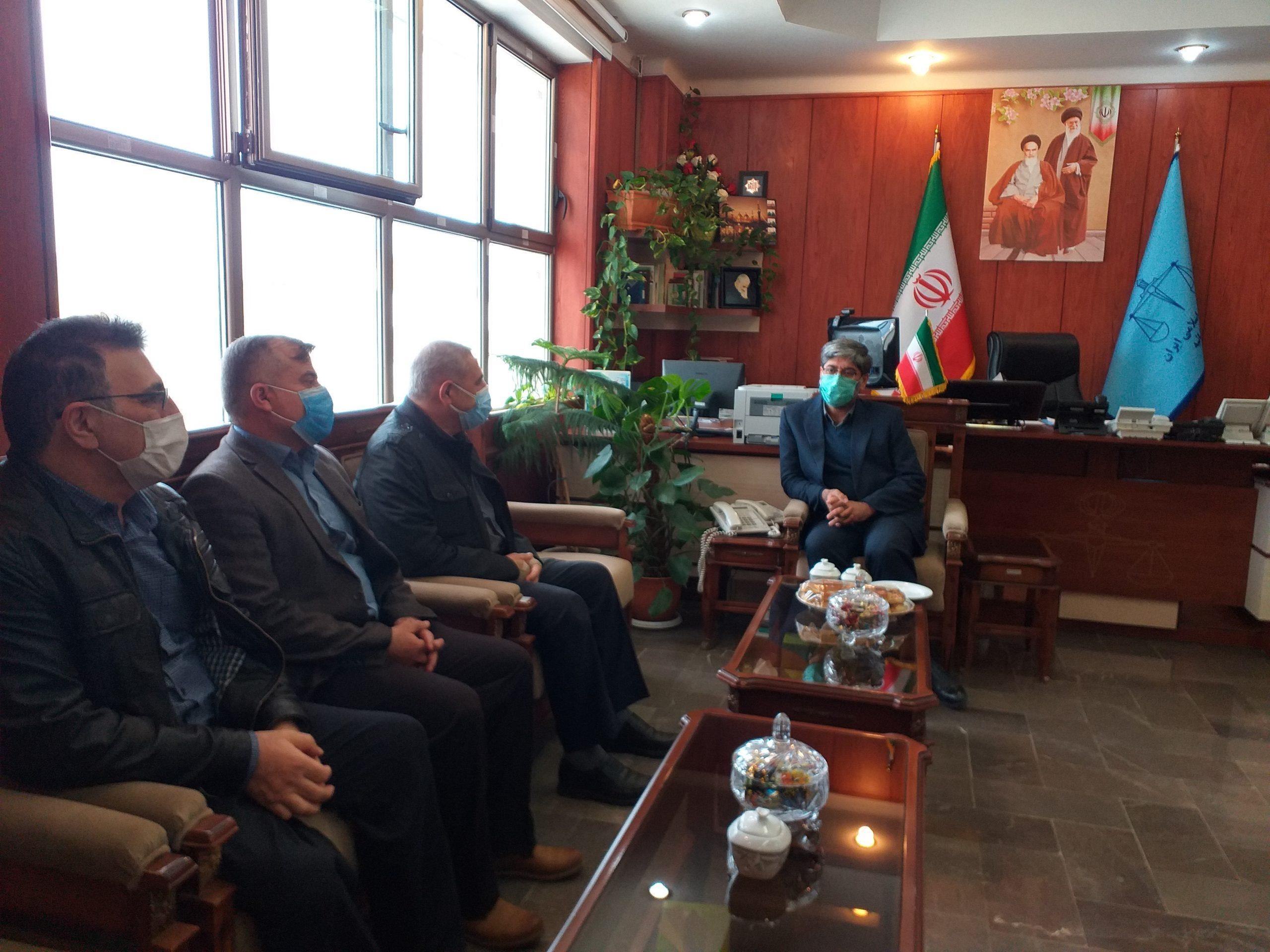 مدیر عامل و کارکنان انجمن حمایت زندانیان اردبیل سنت حسنه دید و بازدید عید را بجا آوردند.