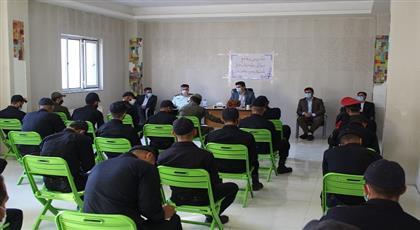 مدیر کل زندان های استان اردبیل در جمع سربازان : دوران سربازی در زندان دوران عبرت آموزی و تجربه اندوزی است